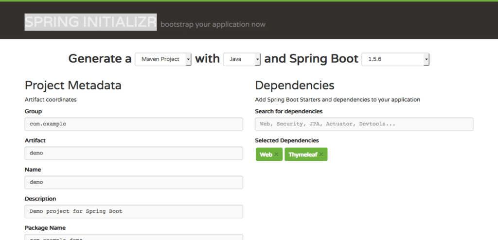Creating a Web Application with Spring Boot | Java