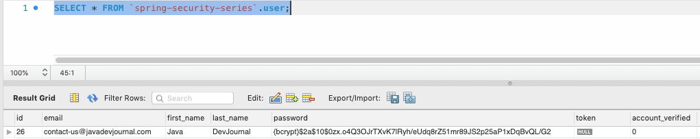Activate a New Account via Email Using Spring Security