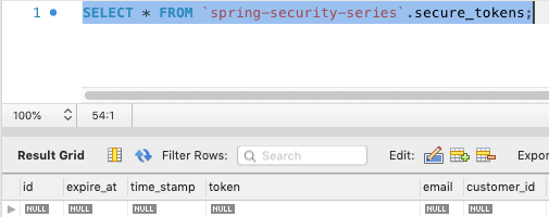 Spring Security Course - Token cleanup
